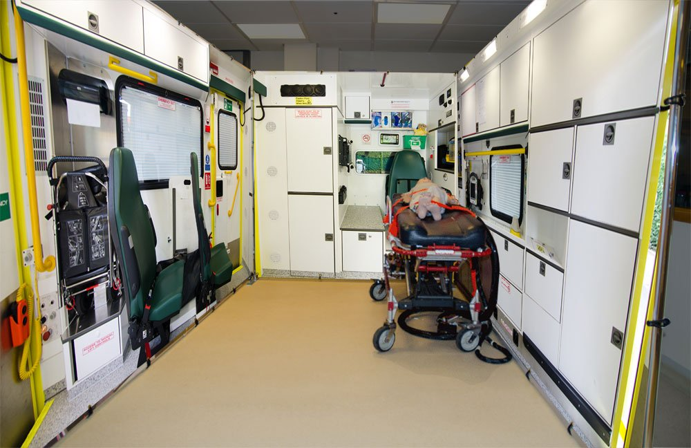 Ambulance Simulator Backdrops & Frames
