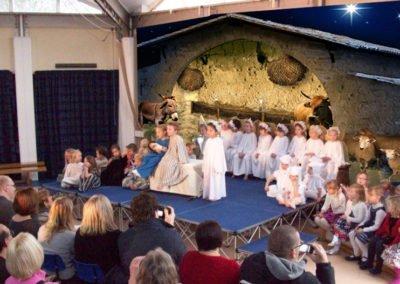 Nativity Play Backdrop