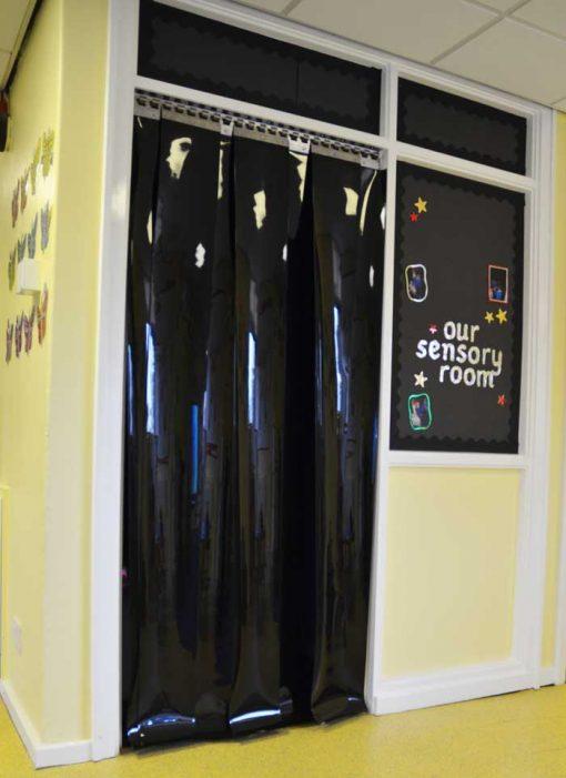 blackout strip door
