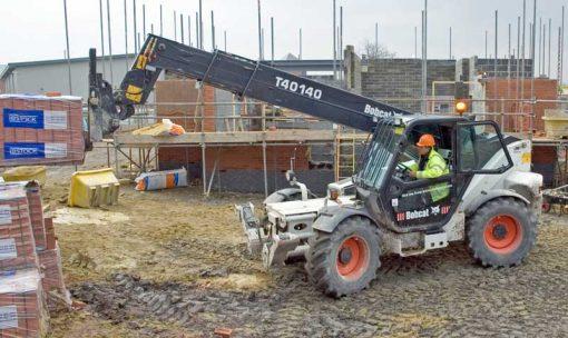 building site backdrop