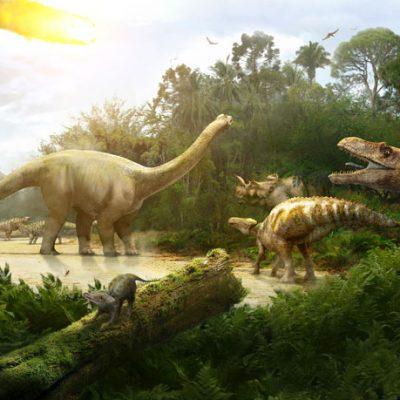 Jurassic backdrop