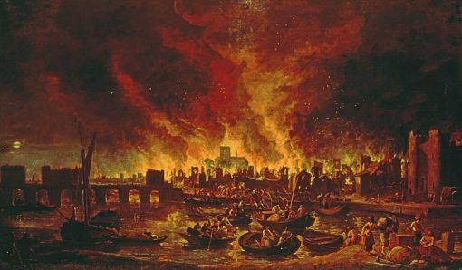 fire of london backdrop