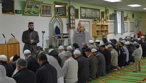 mosque prayer room backdrop