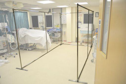 Ambulance simulation frame