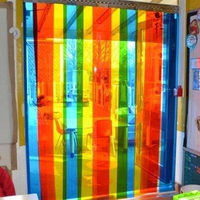 Rainbow PVC Door