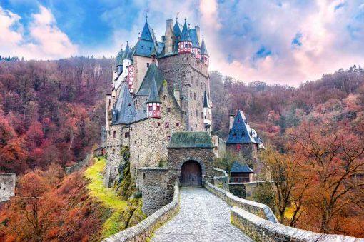 fairy tale castle exterior backdrop