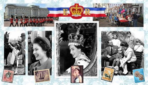 queen jubilee backdrop