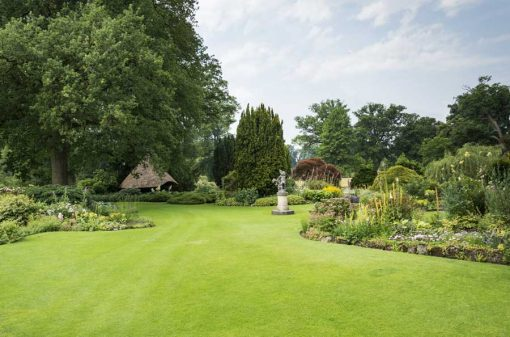 formal gardens backdrop