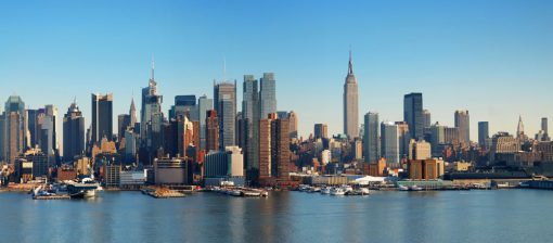 new york skyline daytime backdrop
