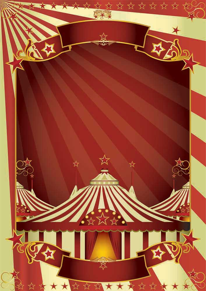 circus poster backdrop