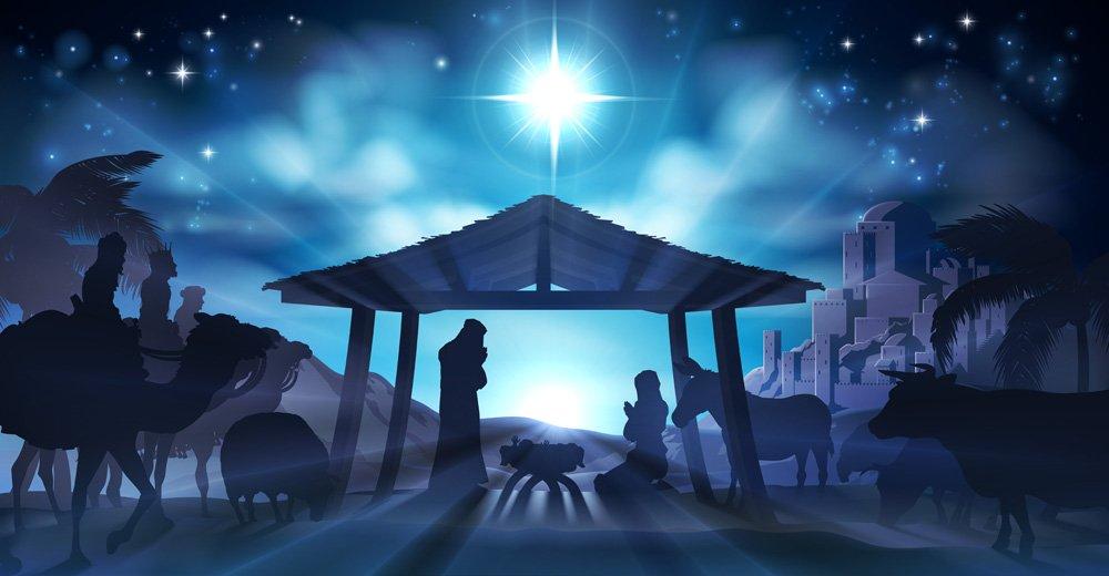Christmas Nativity Backdrop 3 Mybackdrop Co Uk