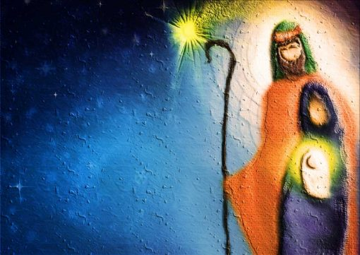 christmas nativity poster