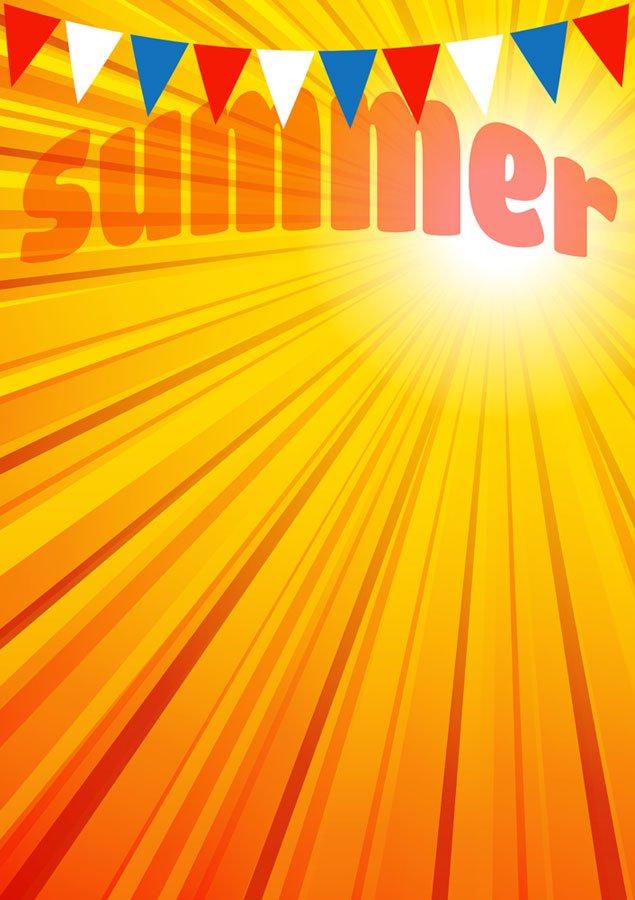 Summer Fete Poster