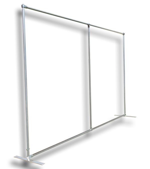 Backdrop frames now available to hire