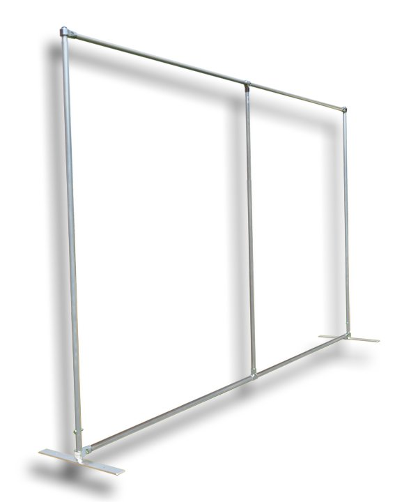 Backdrop frames hire for Large a frame