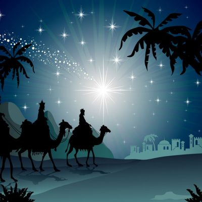 Nativity-silhouette
