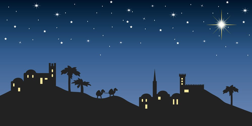 Nativity Bethlehem Illustration