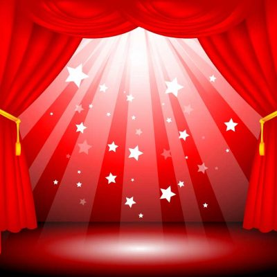 Stage-Curtains-red-with-stars