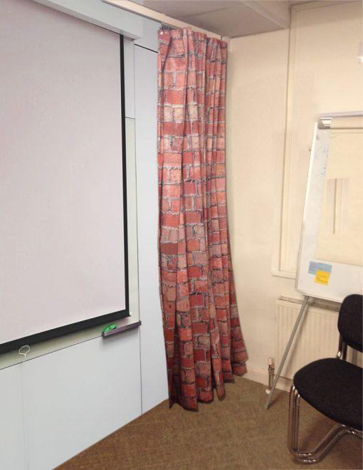 Curtain Folded