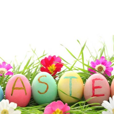 Easter-painted-eggs backdrop