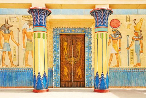 Egyptian-Entrance-with-pillars