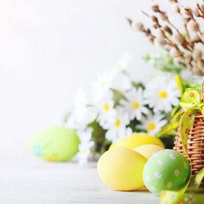 painted-eggs-in-basket backdrop