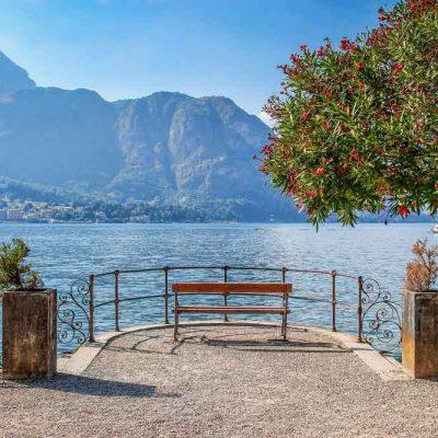 romantic-lake-view backdrop