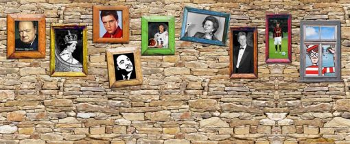 Decades Remembered backdrop