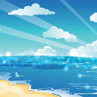 desert island image