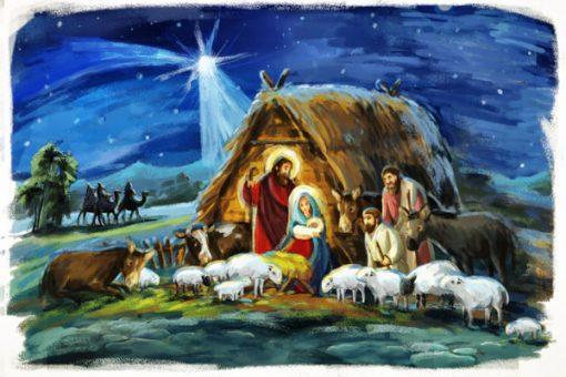 Childrens Nativity Scene 1