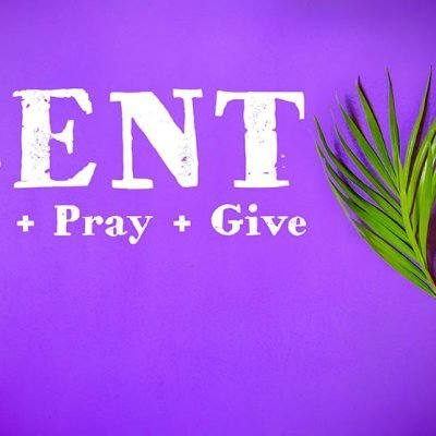 lent backdrop